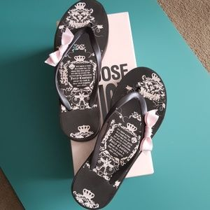 Juicy Couture Flip Flops
